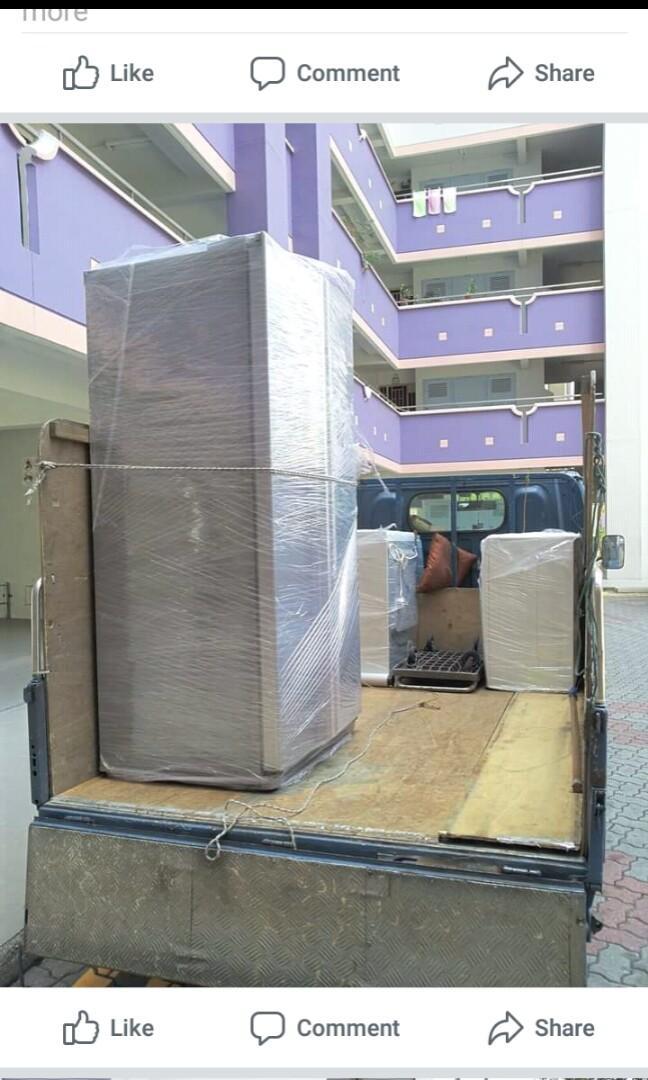 fridge moving/delivery/transport/disposal services