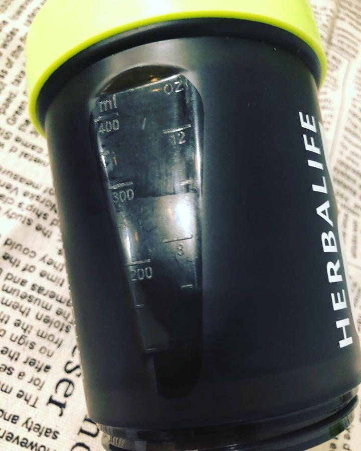 賀寶芙H24雙層蛋白粉運動搖杯500ml(附濾網)