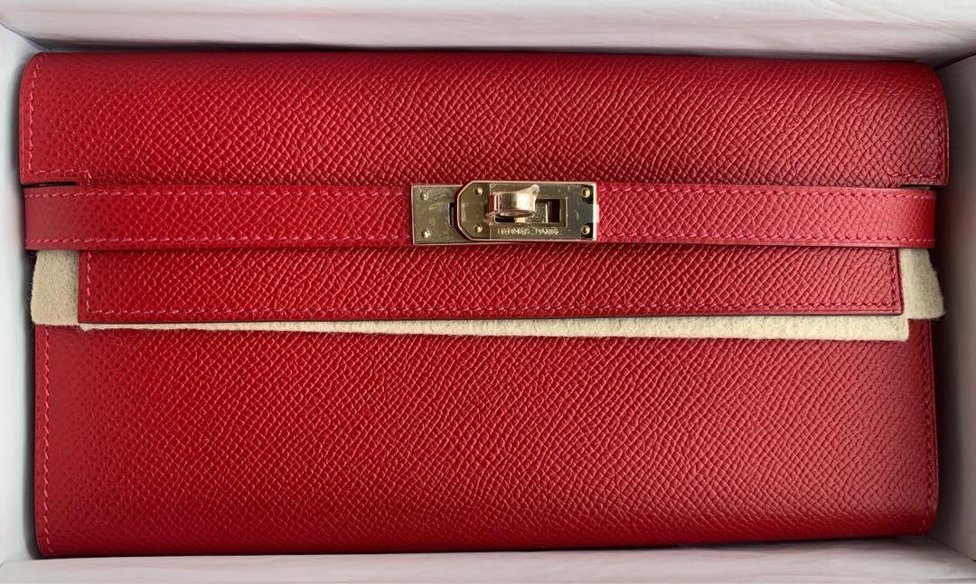 Hermes Kelly Classic Long Wallet