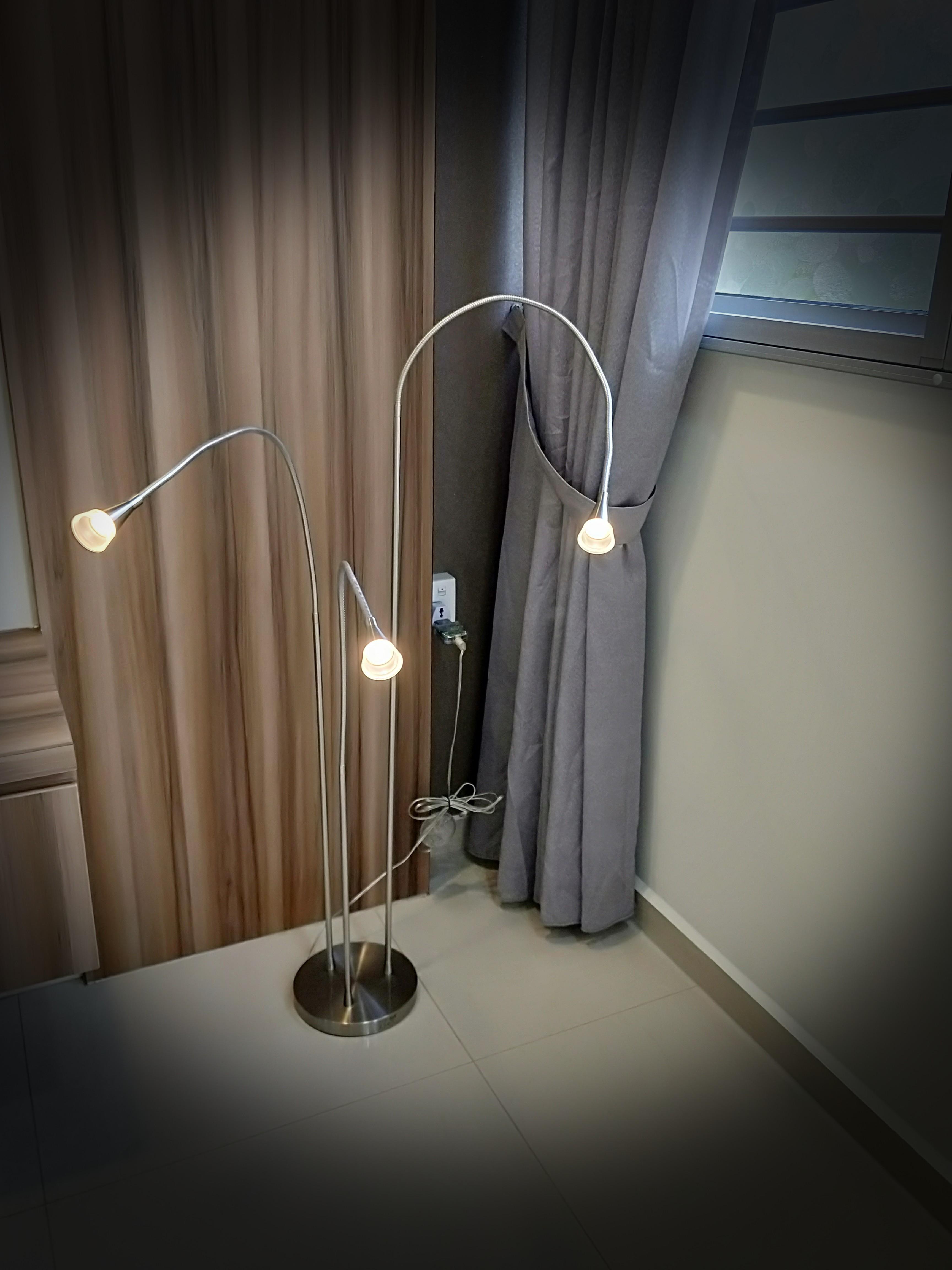 IKEA Tived Led Floor Lamp
