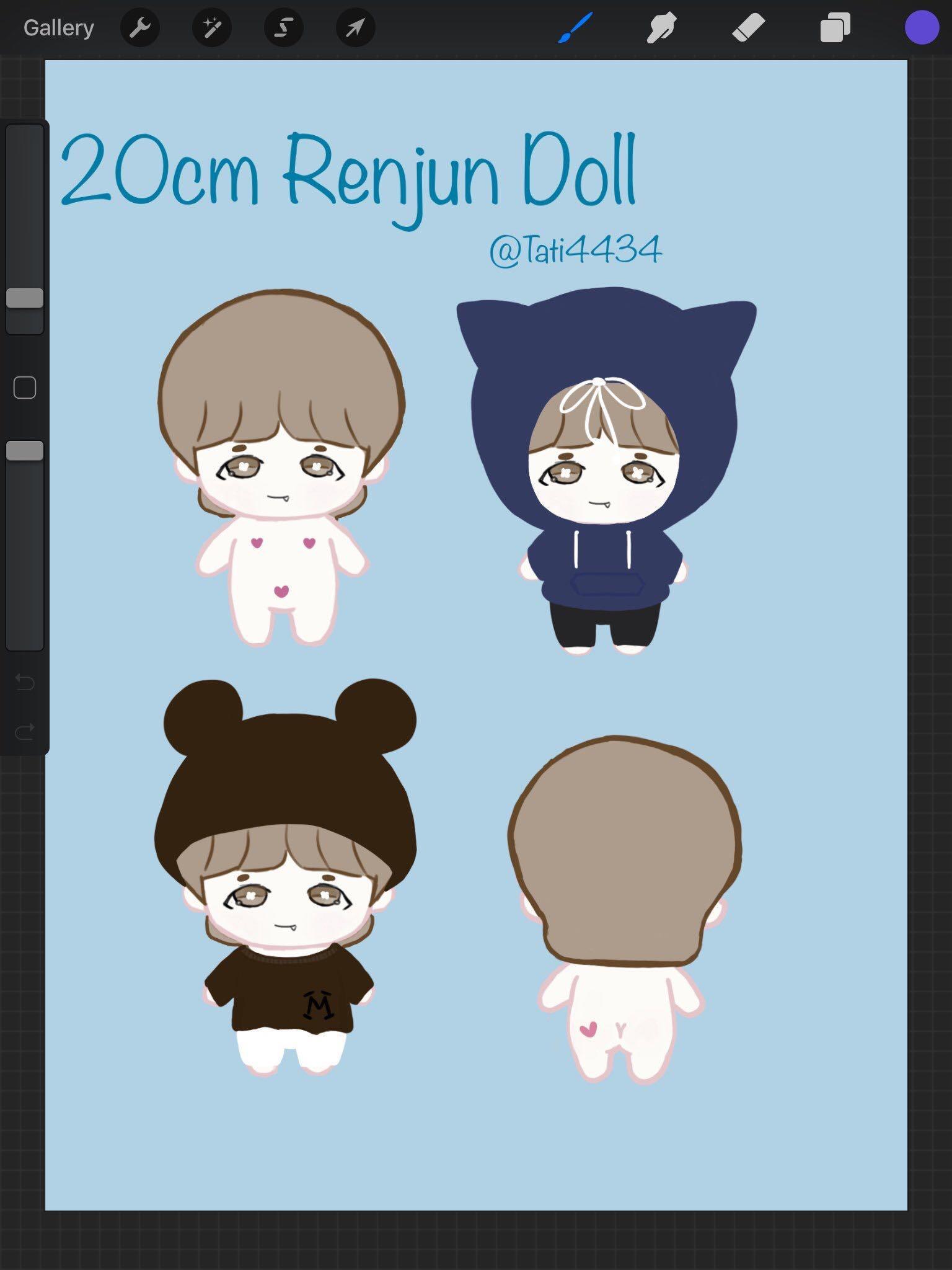 (Interest check for Renjun doll) nct WayV nct dream wtt wtb wts