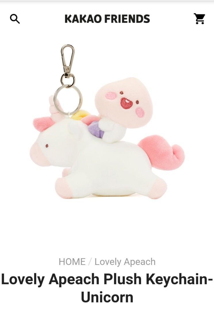 KaKao Friends Nayeon Apeach Keyring & TWICE × KakaoFriends Pin Set