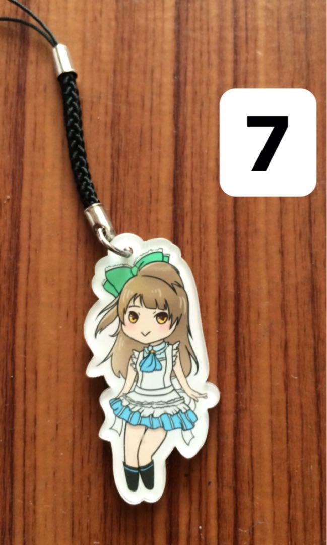 Keychain Acrylic Love Live School Idol Project