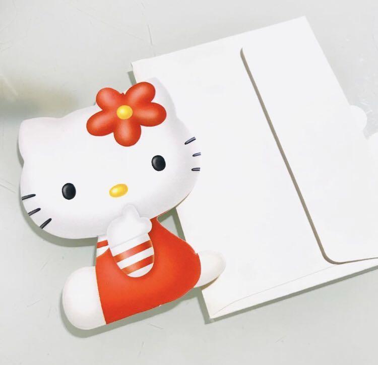🇰🇷KOREA SANRIO 3D HELLO KITTY HAPPY BIRTHDAY GREETING GIFT CARD 韓國立體生日卡 賀卡 祝福咭 心意卡