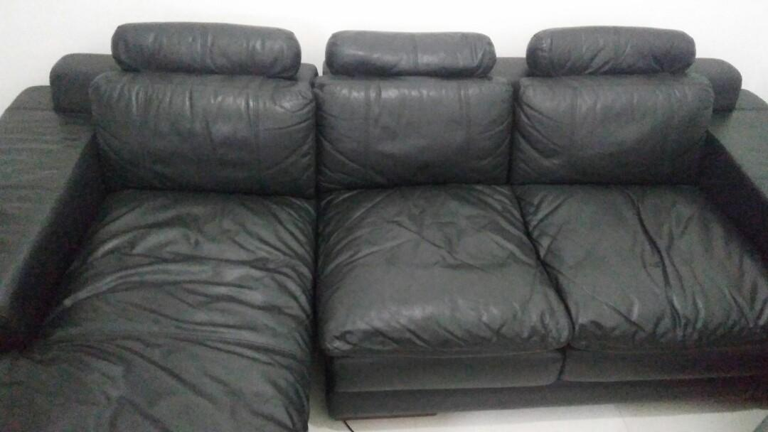 leather sofa merek melandas a f3 progressive