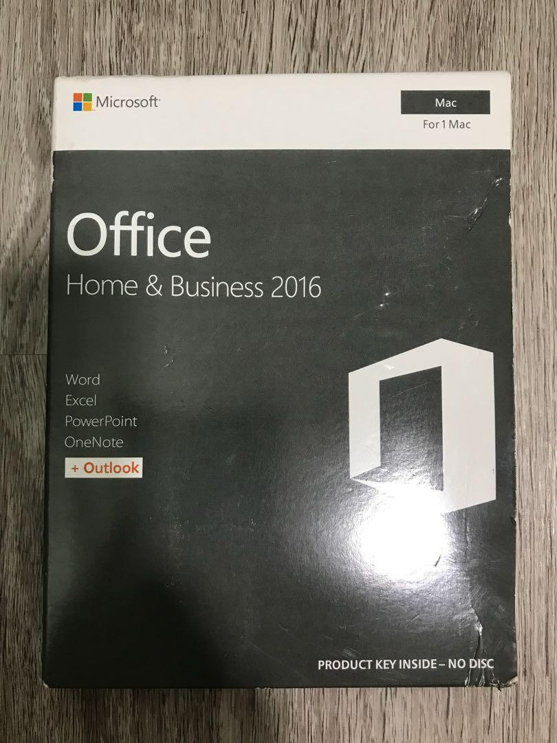 Microsoft Office Home & Business 2016 for Mac Software