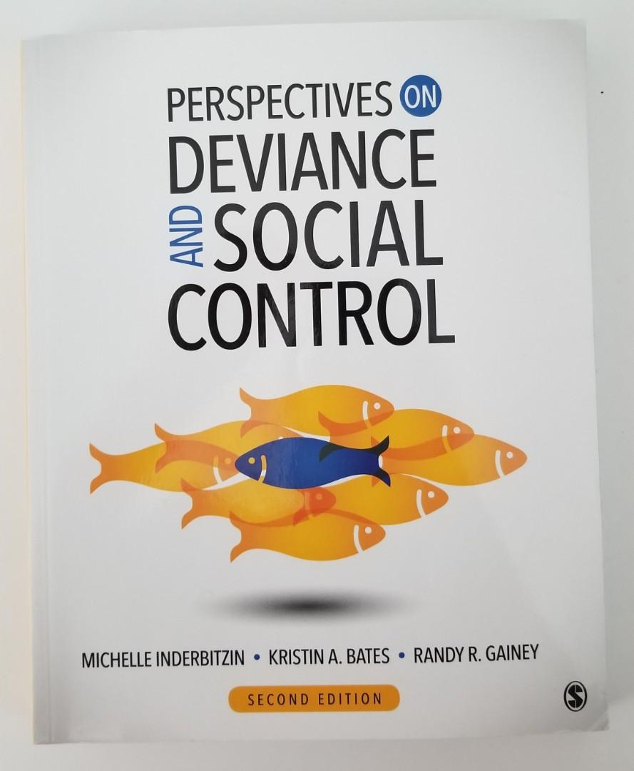 Perspectives on Deviance and Social Control - Soc212