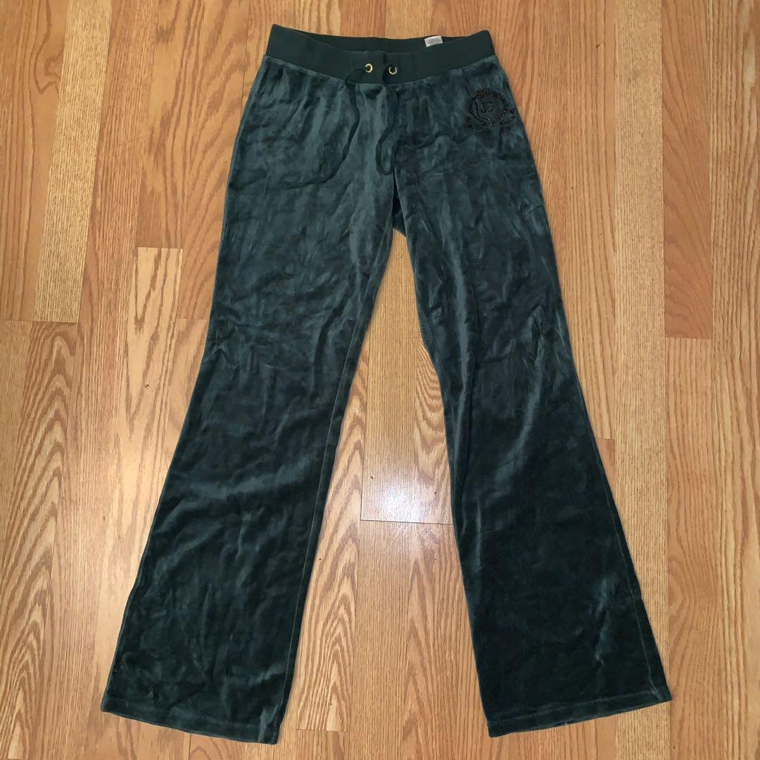 *PRICE DROP* Pine Green Juicy Couture Pants Size XS