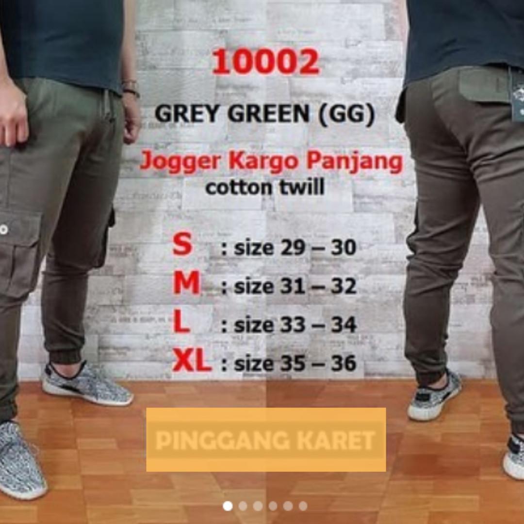 [PreOrder] Jogger Cargo pants