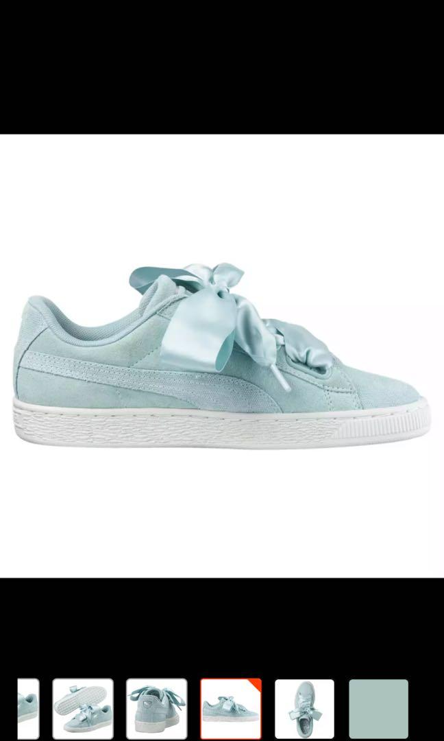 new arrival 3a1c1 dc3f9 Puma Suede Heart Pebble Woman's Training Shoes, Women's ...