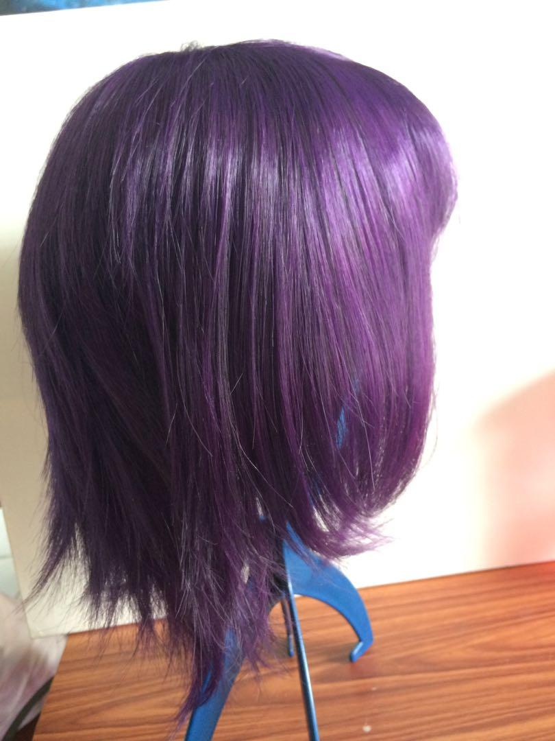 Purple Cosplay Wig