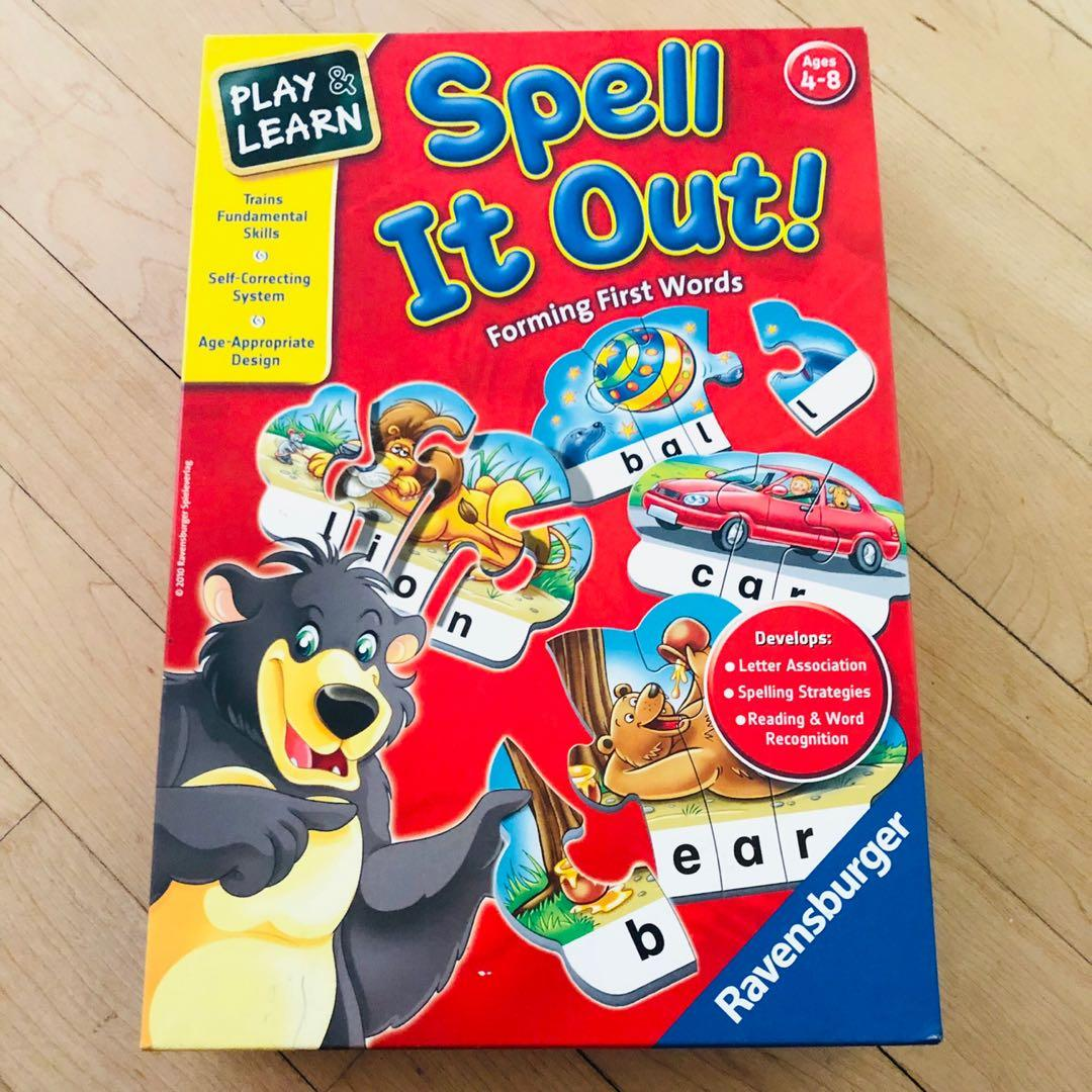 Ravensburger Play & Learn: Spell It Out! Puzzles