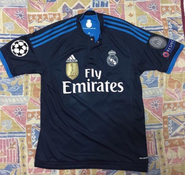on sale e812b 7a3cc Real Madrid 15/16 3rd Kit. With Ronaldo Printing , FIFA club ...