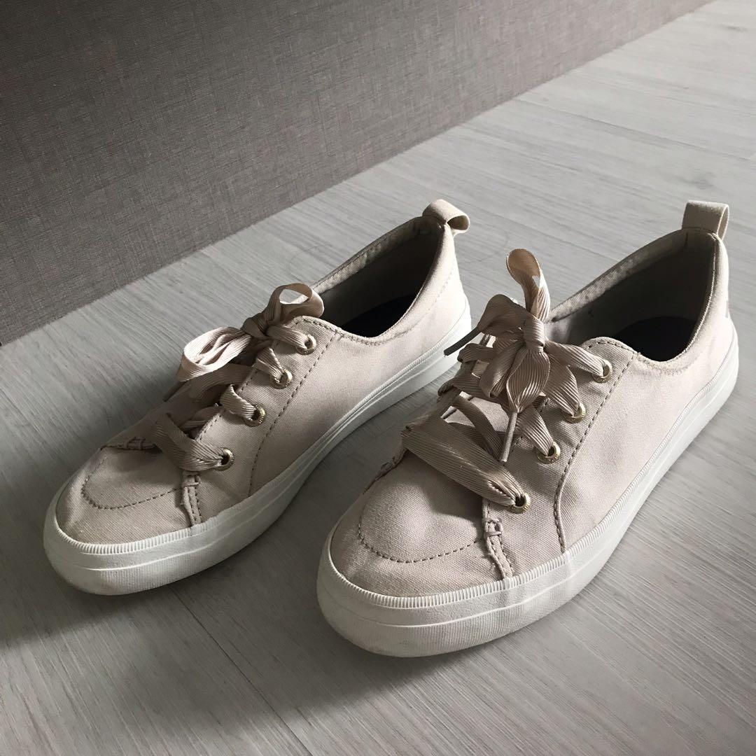 Sperry Crest Vibe Satin Lace Sneaker