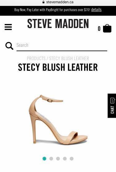 Steve Madden Stecy heels nude