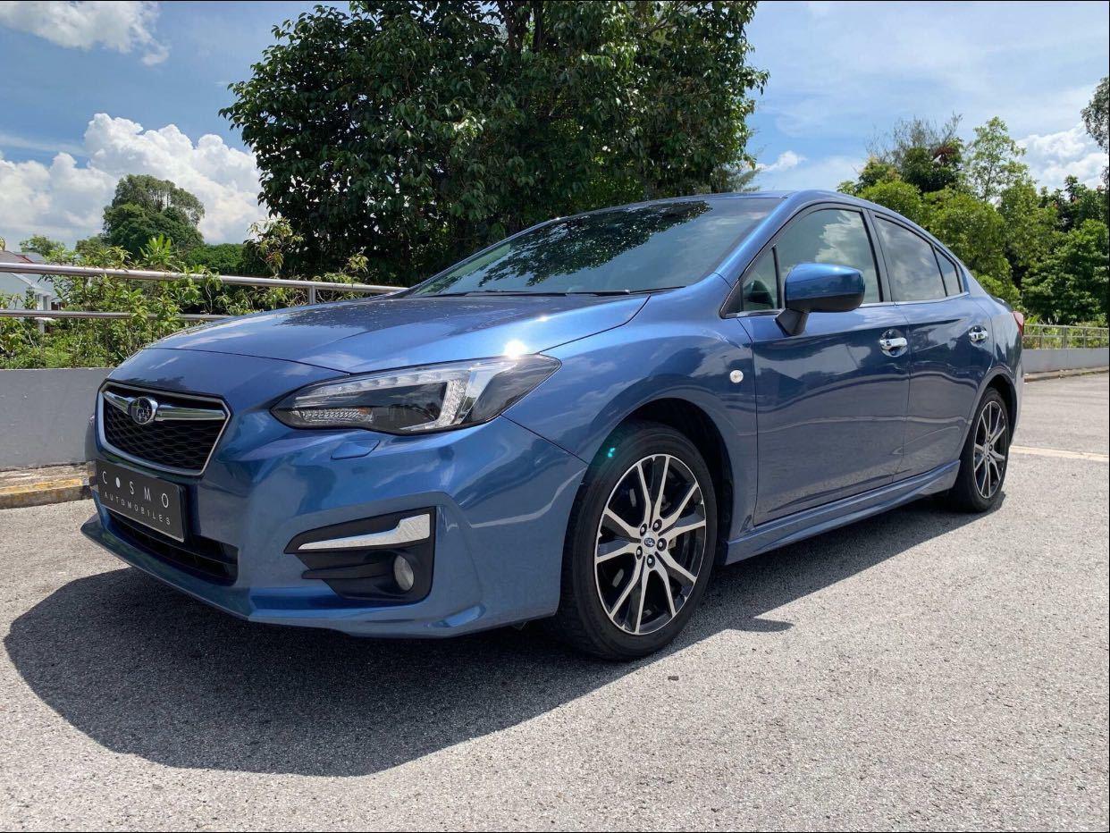 Subaru Impreza 5D 1.6i-S Auto
