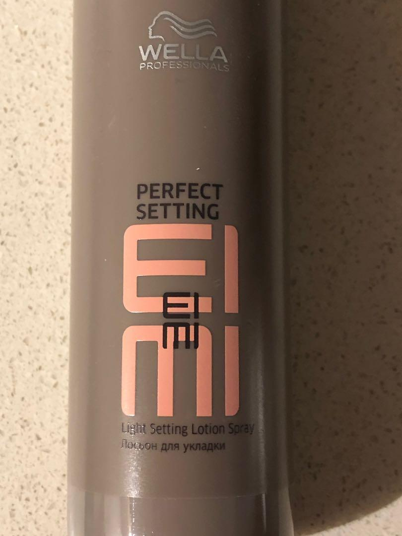 WELLA EIMI Root Shoot, Thermal Image & Perfect Setting NEW