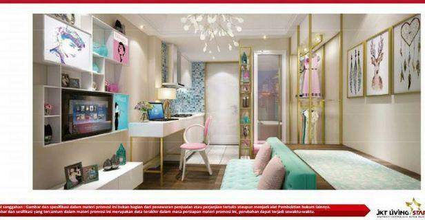Apartemen superblok standar Singapore di Pasar Rebo Jaktim  cuma 2 jutaan/bln