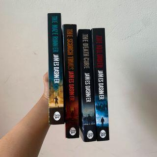 The Maze Runner, The Scorch Trials, The Death Cure, The Kill Order - James Dashner
