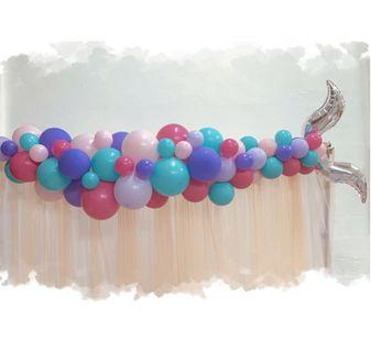 Mermaid Tail Balloon Garland