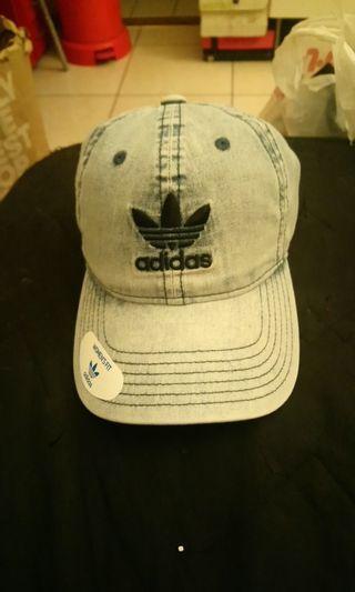 全新adidas愛迪達正品牛仔棒球帽