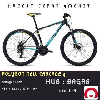 Sepeda Gunung Polygon Cascade 4 cicilan tanpa kartu kredit