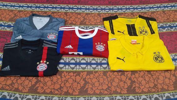 Original Bayern Munich and Borussia Dortmund