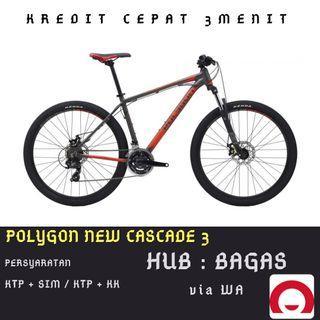 Sepeda Gunung Polygon Cascade 3 cicilan tanpa kartu kredit