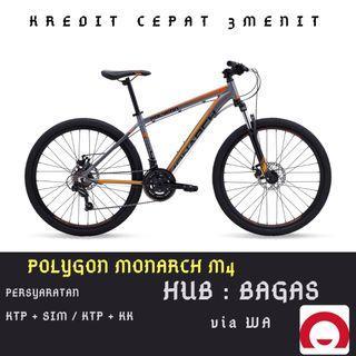 Sepeda Gunung Polygon Monarch M4 cicilan tanpa kartu kredit