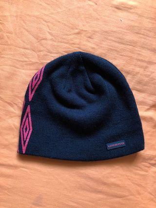 黑色圖騰毛帽