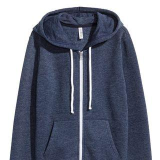 H&M Blue Hooded Jacket