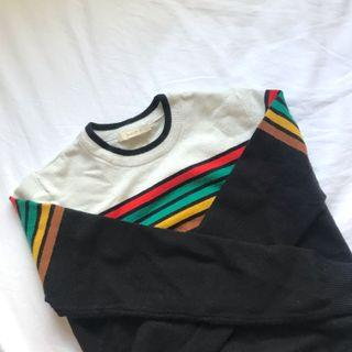 F21 Striped Sweater