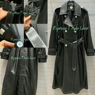 [T•0•D'$]Genuine Leather Long Trench Coat A073024