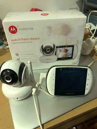Motorola baby monitor with night vision