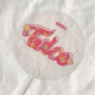 TWICE HANDFAN AND BUTTON