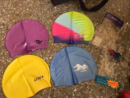 導流型矽膠泳帽
