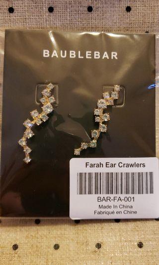 New Ear crawler earrings
