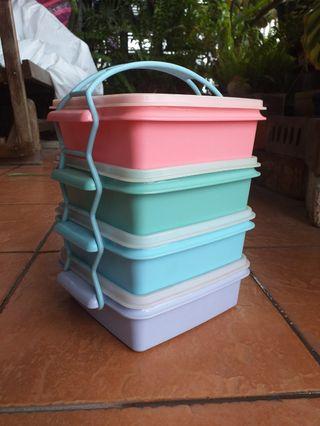Tupperware Brand 4 Tier Container