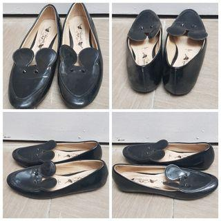 Adorable Loafer Black Mickey
