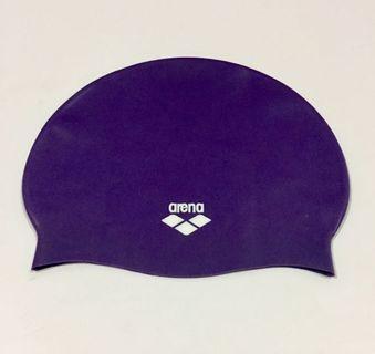 Arena ARC201J Junior Silicone Swim Cap Purple
