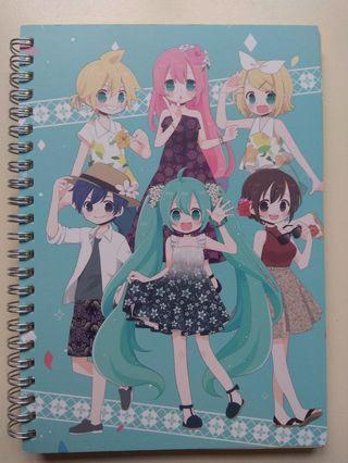 Vocaloid Notebook