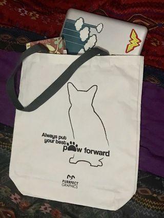 A3 Canvas Tote Bags-Cats #MRTCCK