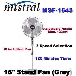Mistral 16inch fan brand new cheap