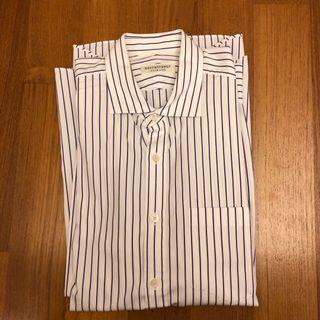 Kent & Curwen Men's Shirt (Size 40) - Blue Stripes