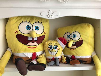 Spongebob Plushies