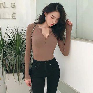 Button up long sleeve shirt