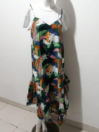 Flower long Dress korea