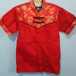 Baju Imlek Anak, baju merah