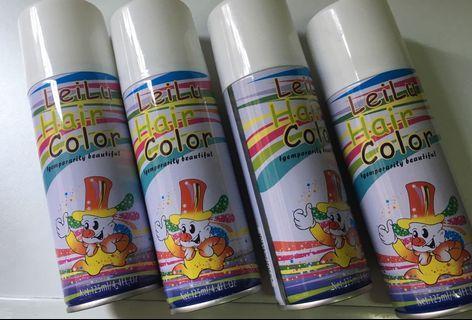 Coloured Hair Spray #MRTClementi