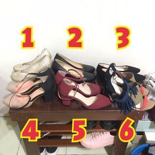 amai、niu niu、阿瘦等 專櫃品牌 跟鞋 涼鞋